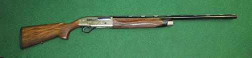 "Beretta A 400 Upland 12 ga., 28"" barrel, 5 flush HP chokes, engraved receiver, no KO MKJ9931QAW #8009"