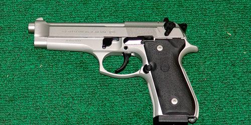 Beretta 96 FS – .40 S&W – Inox – 2 Mags - Silver Dollar Firearms