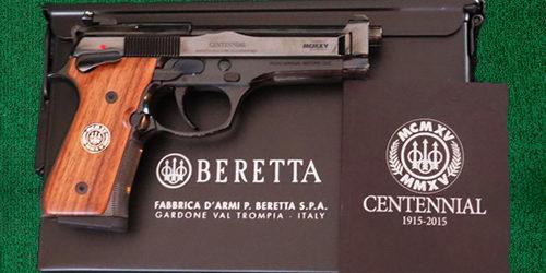 Beretta Centennial – 9mm - 2 - silver dollar firearms