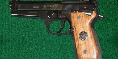 Beretta Centennial – 9mm - silver dollar firearms