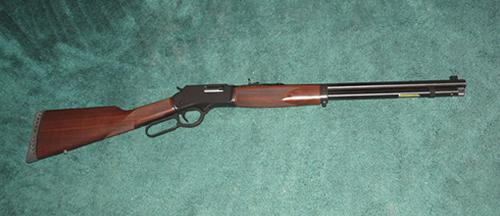 Henry – Big Boy Steel – .44mag – 20″ Octagonal Barrel - Silver Dollar Firearms